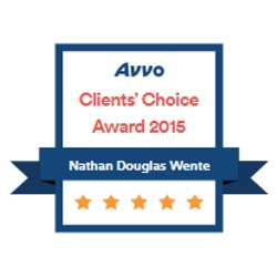 AVVO clients choice 2015 badge