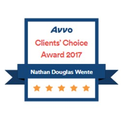 AVVO clients choice 2017 badge